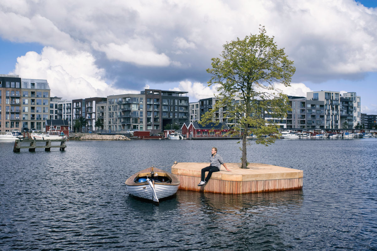 The artificial islands of Copenhagen