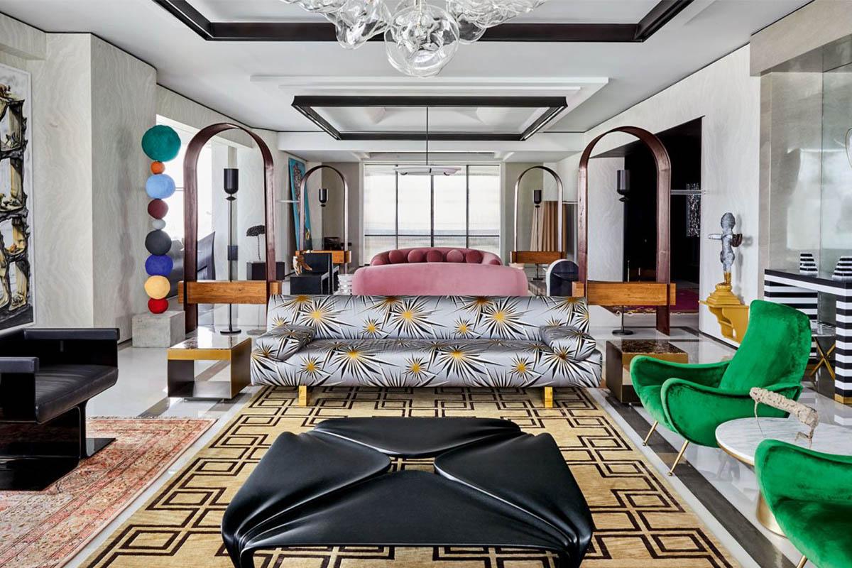 Marine Drive Penthouse / Ashiesh Shah