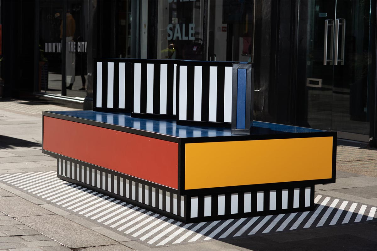 The Walala Lounge by Camille Walala