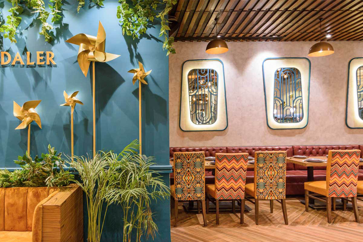 Daler Restaurant / Design Ethics