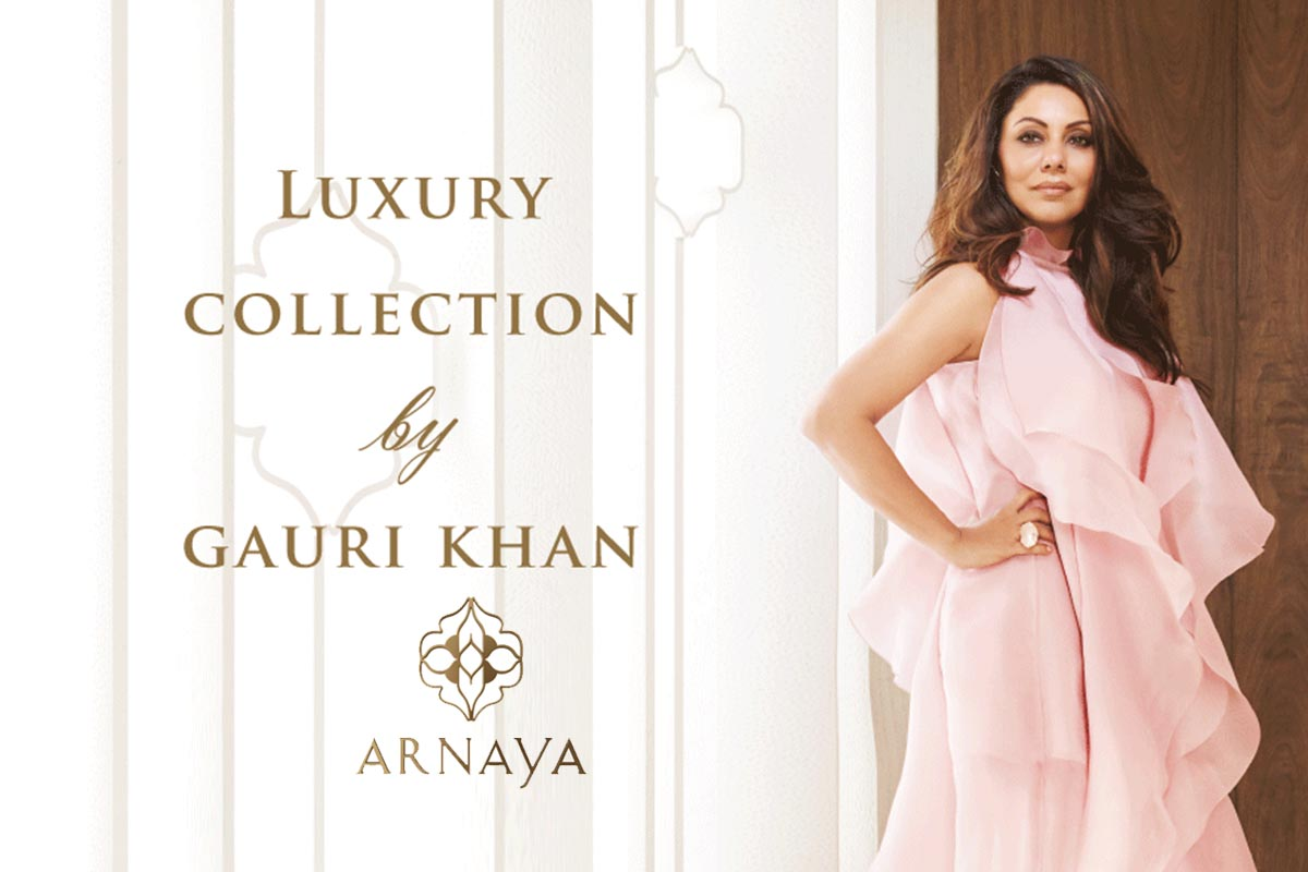 Gauri Khan designs for Arnaya