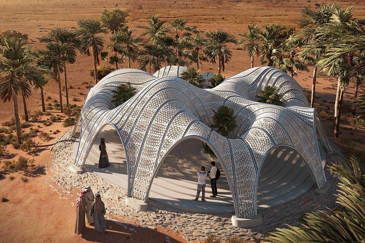 Desert Pavilion  / MEAN