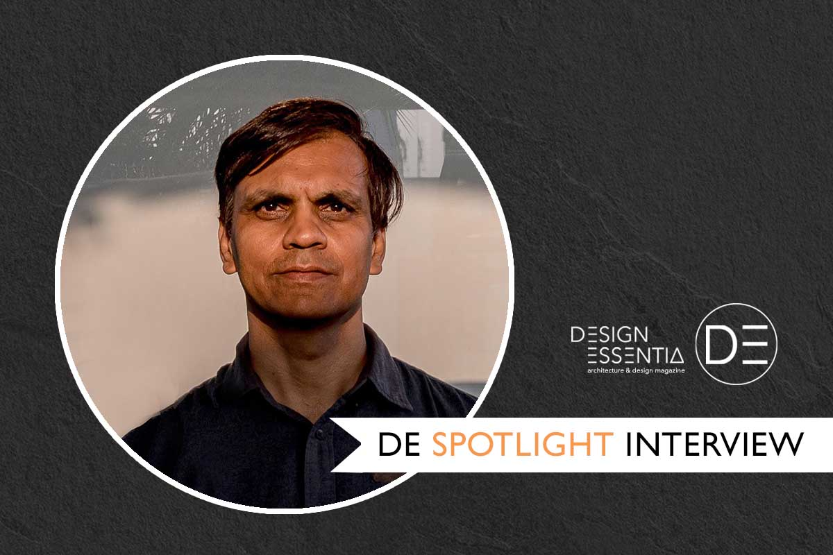 In conversation with architect Hiren Patel.