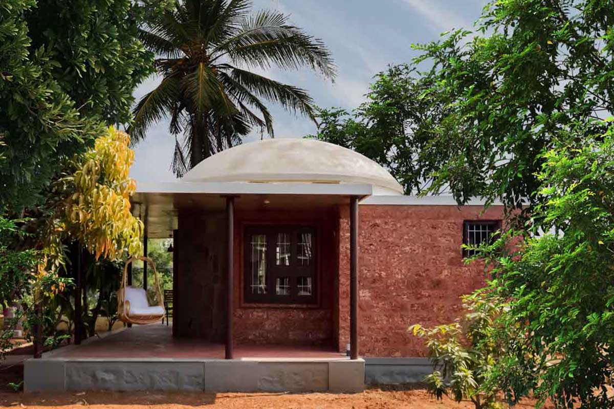 Retreat at Hampi / INT-HAB Architecture+Design