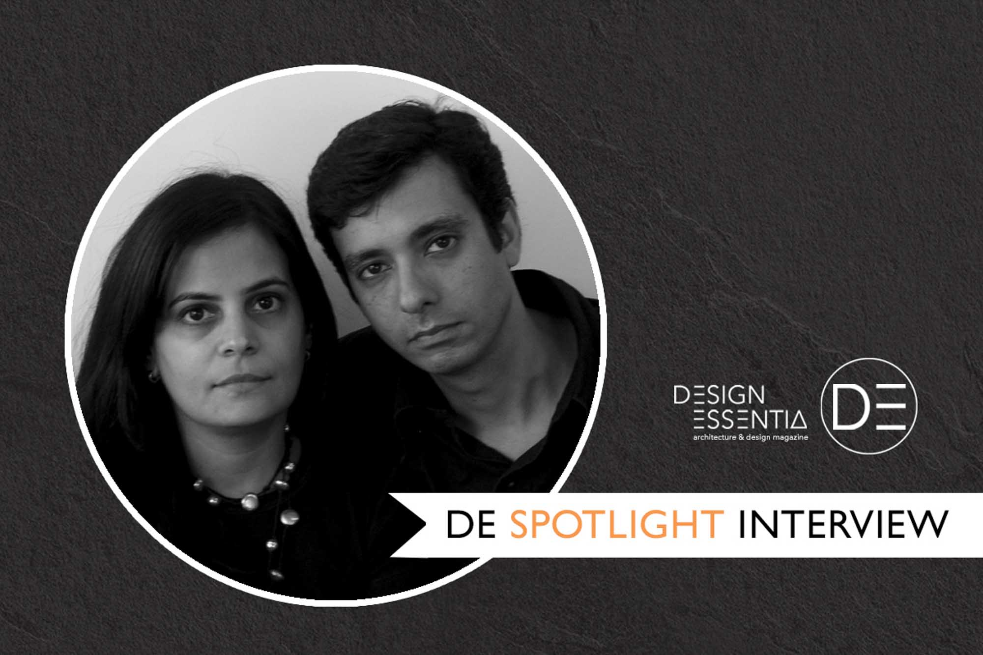 In conversation with architects Sanjeev Panjabi and Sangeeta Merchant.